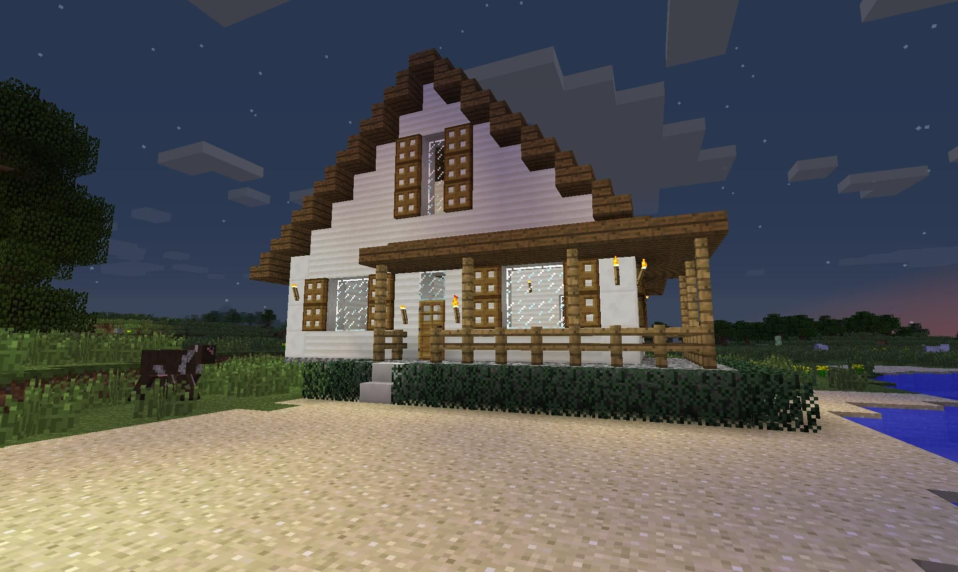minecraft farm houses Minecraft Pinterest Minecraft