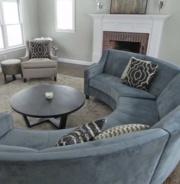 Semi Circle Couch Is Perfect For Girls Night Jadore