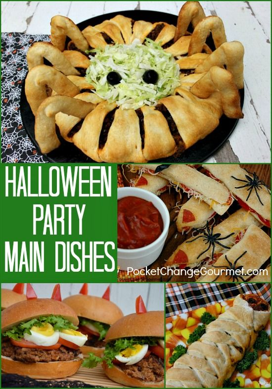 Halloween Party Main Dishes on