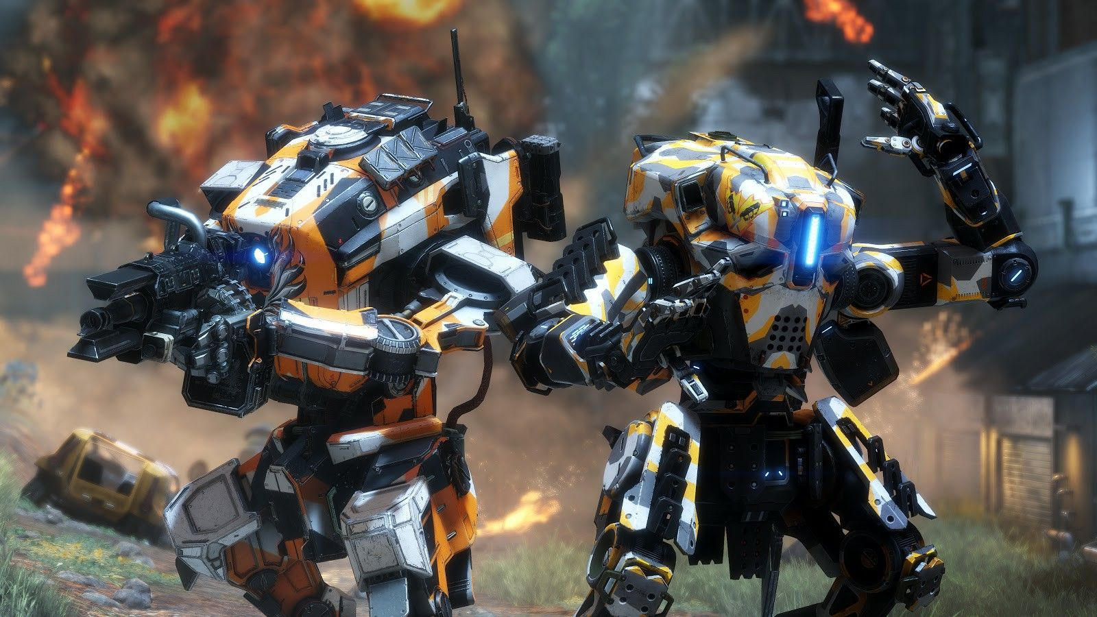 New Titans prime. Tone and Ronin TitanFall Pinterest