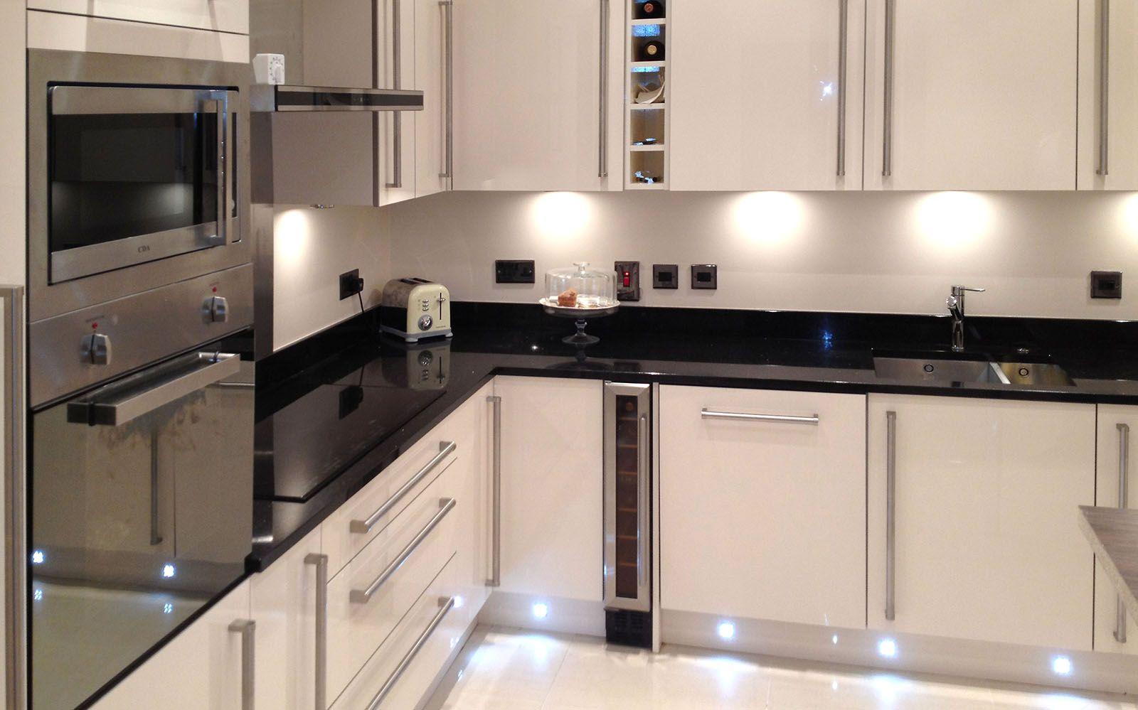 Valencia Kitchen Classic High Gloss Cream Design Tesco
