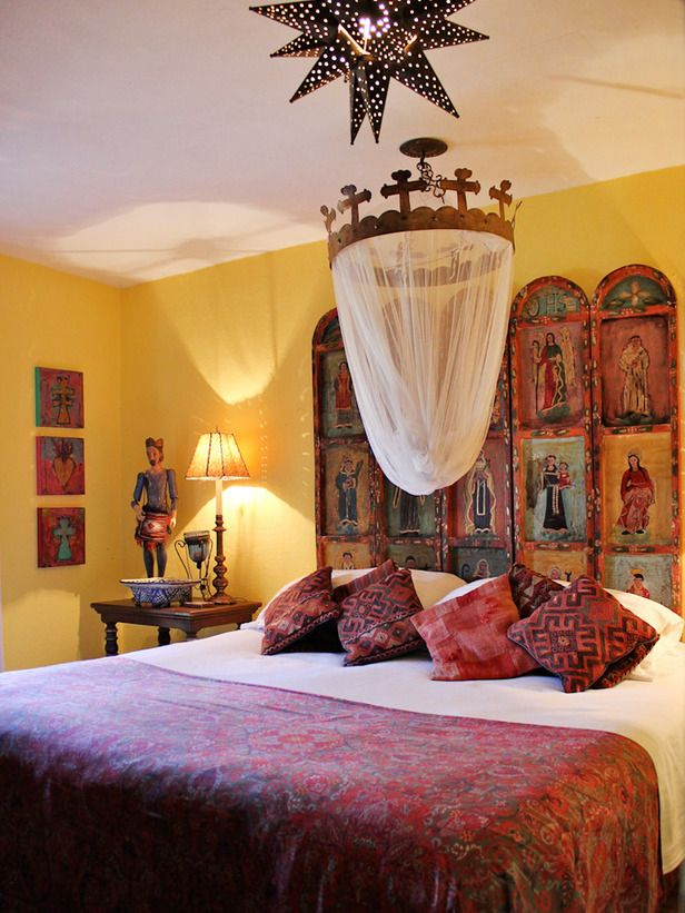 Mexican Style Bedrooms On Pinterest Mexican Bedroom
