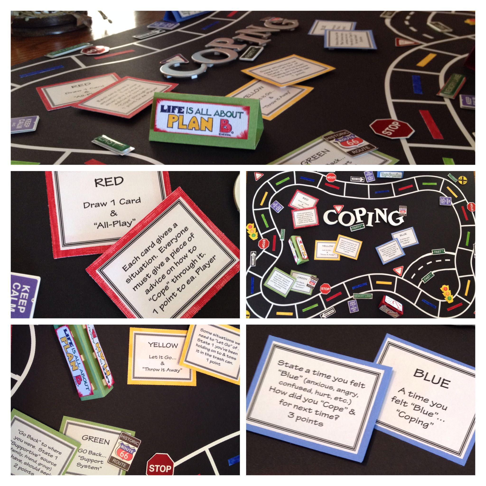 Coping Board Game For Mental Health Clinical Patients Loved It Amp Found It Very The Utic