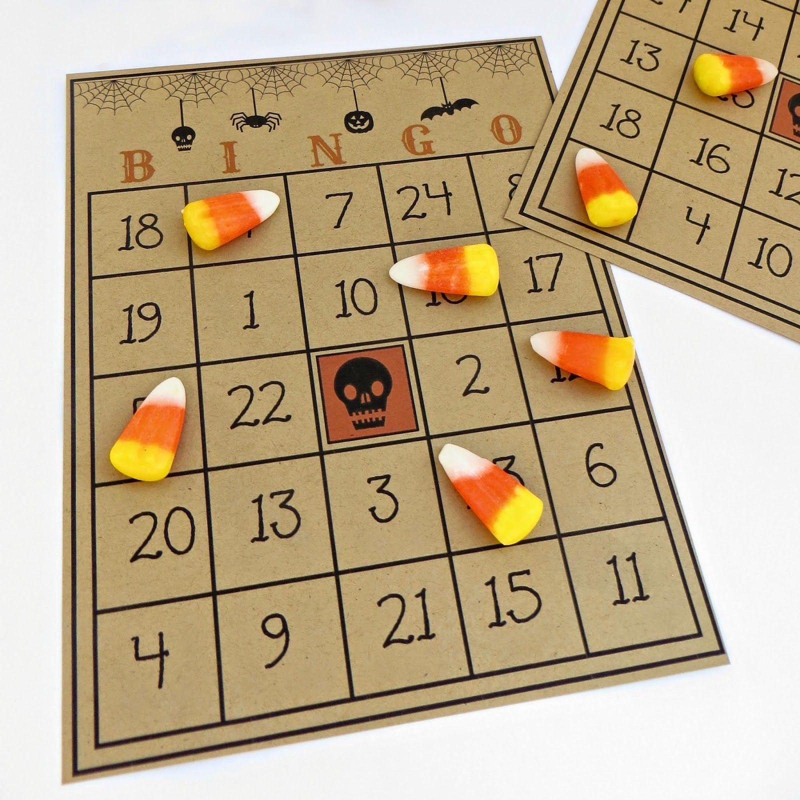 Free Printable Halloween Bingo Game Holidays Halloween