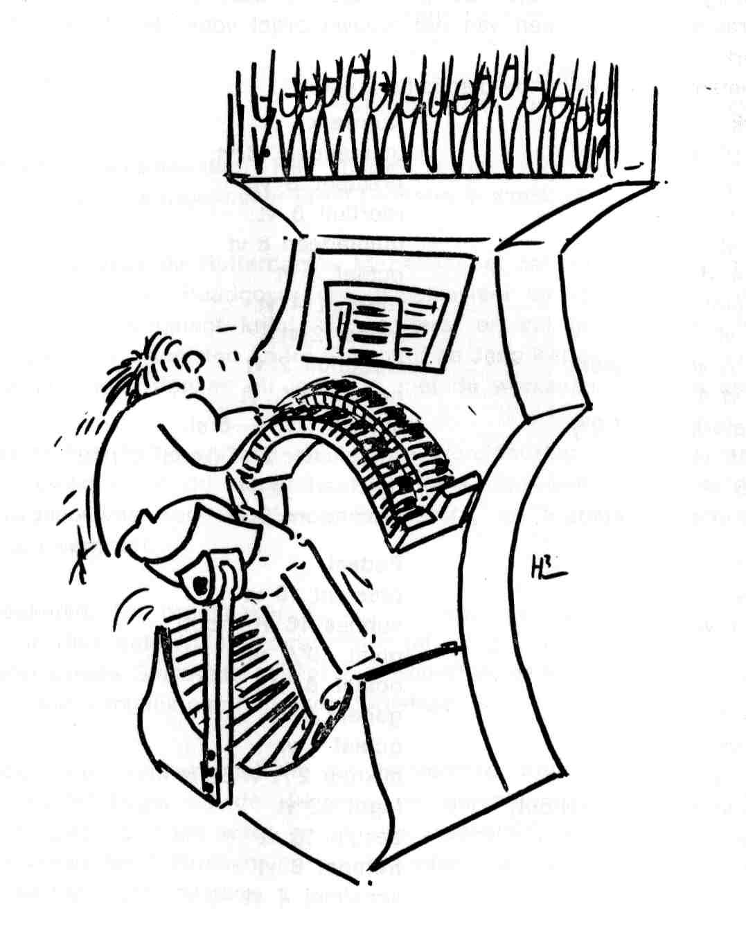 Organist Cartoons