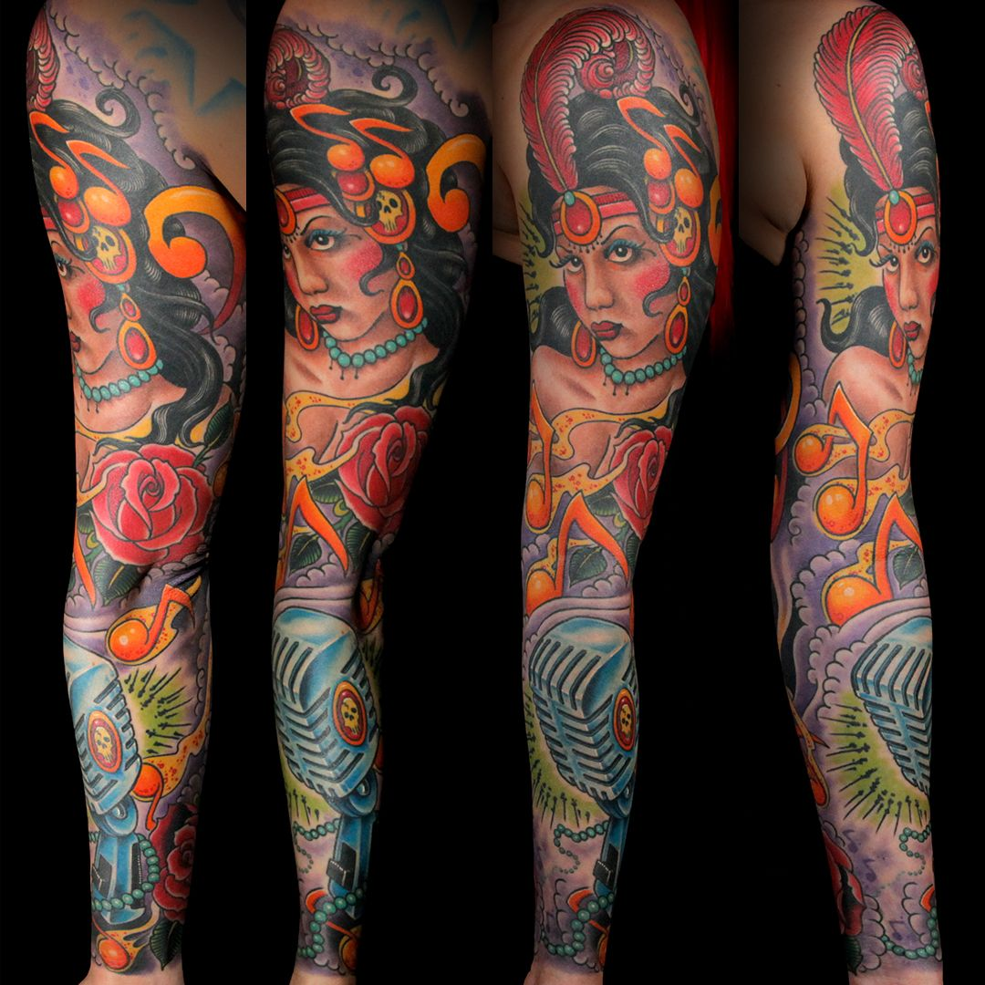 Master Canvas (Sleeve) by Cleen Rock One Ink Master