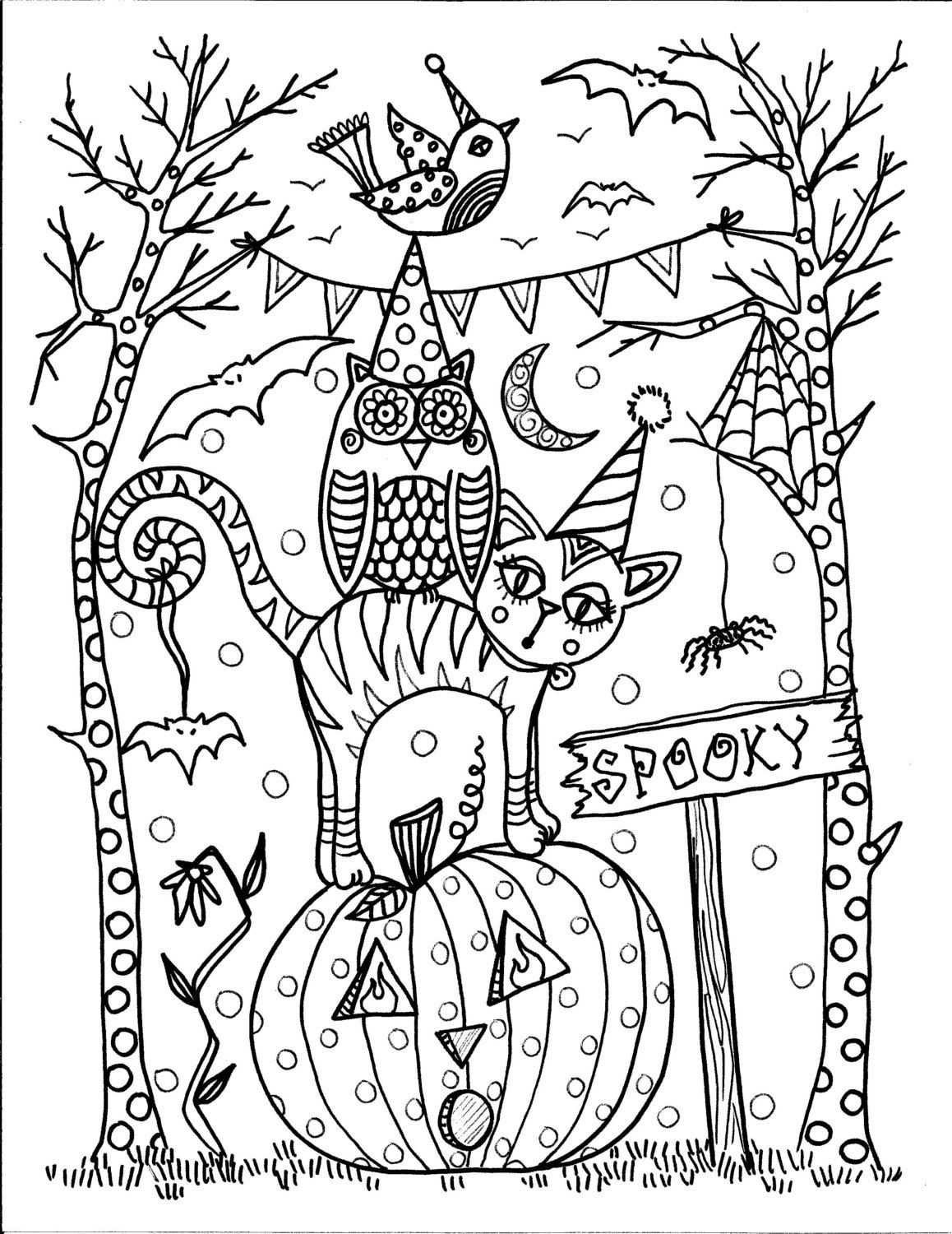 Coloring Book Halloween Coloring Fun be the by