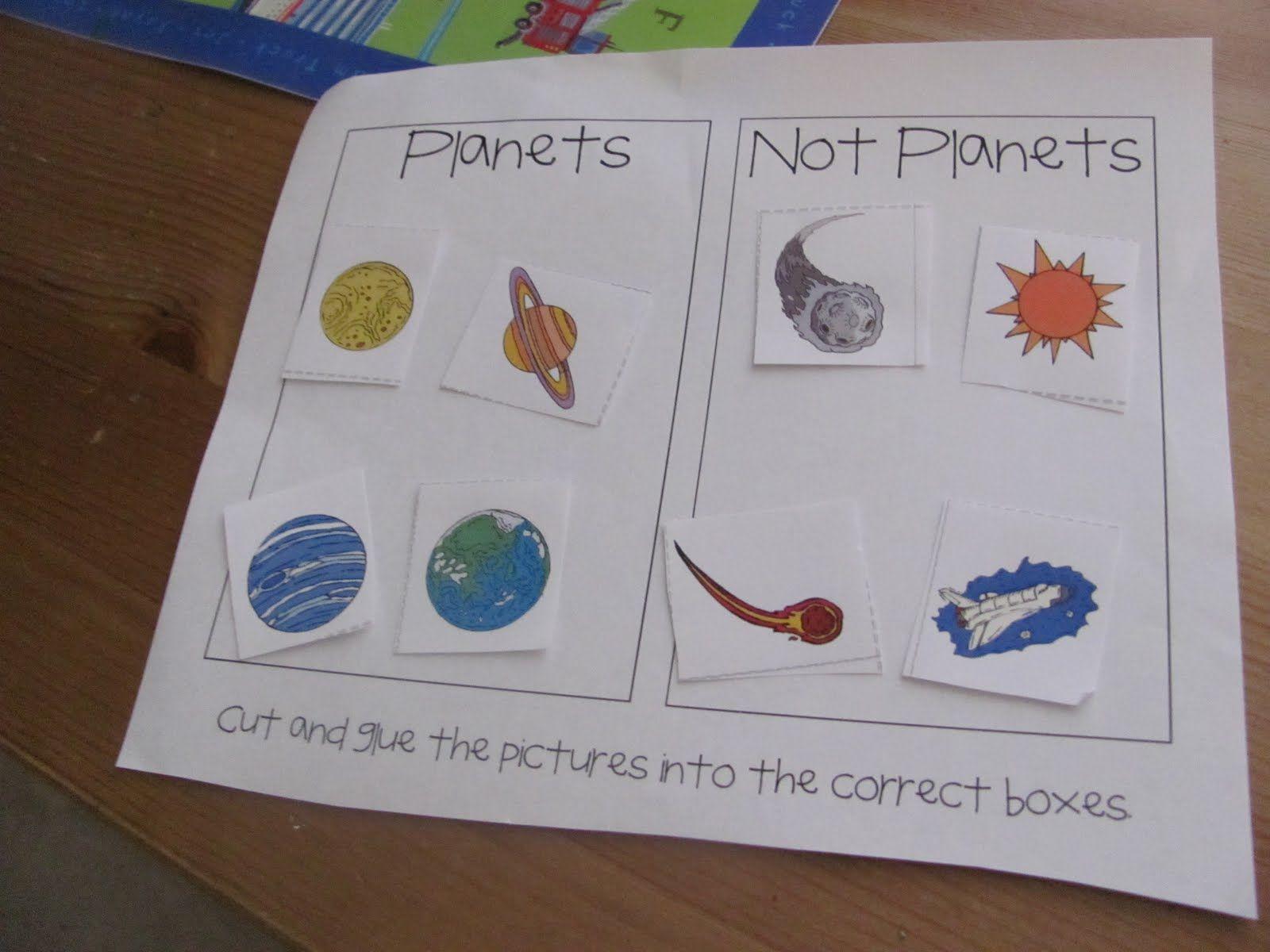 Preschool Solar System Lesson