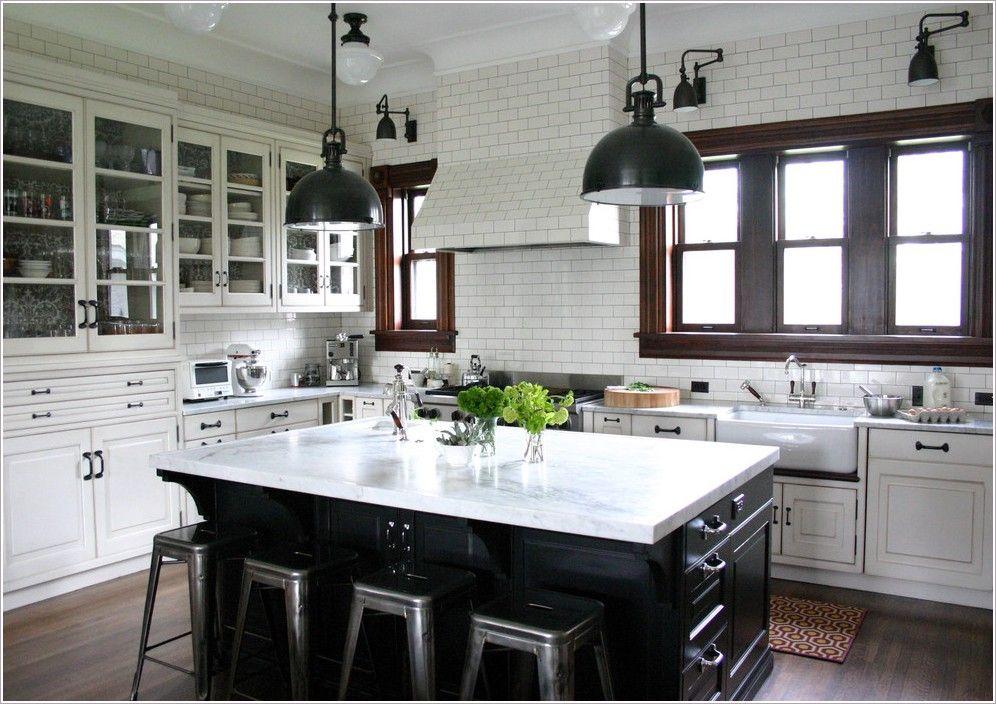 KitchenTraditionalChicagoblackfarmhousesinkglass