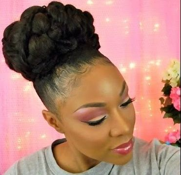 gorgeous bridal bun for medium length natural hair bridal bun natural and articles