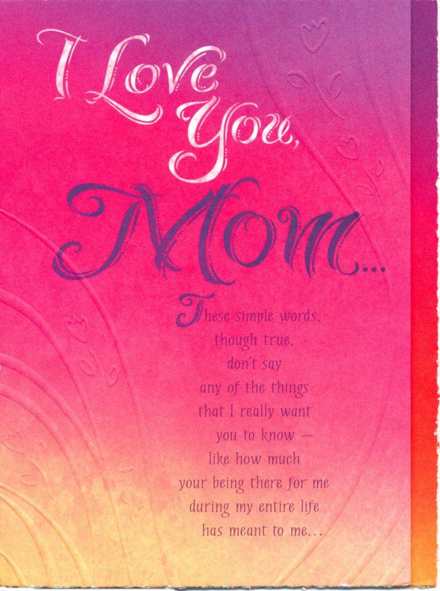 Mom Birthday Card Sayings http//www