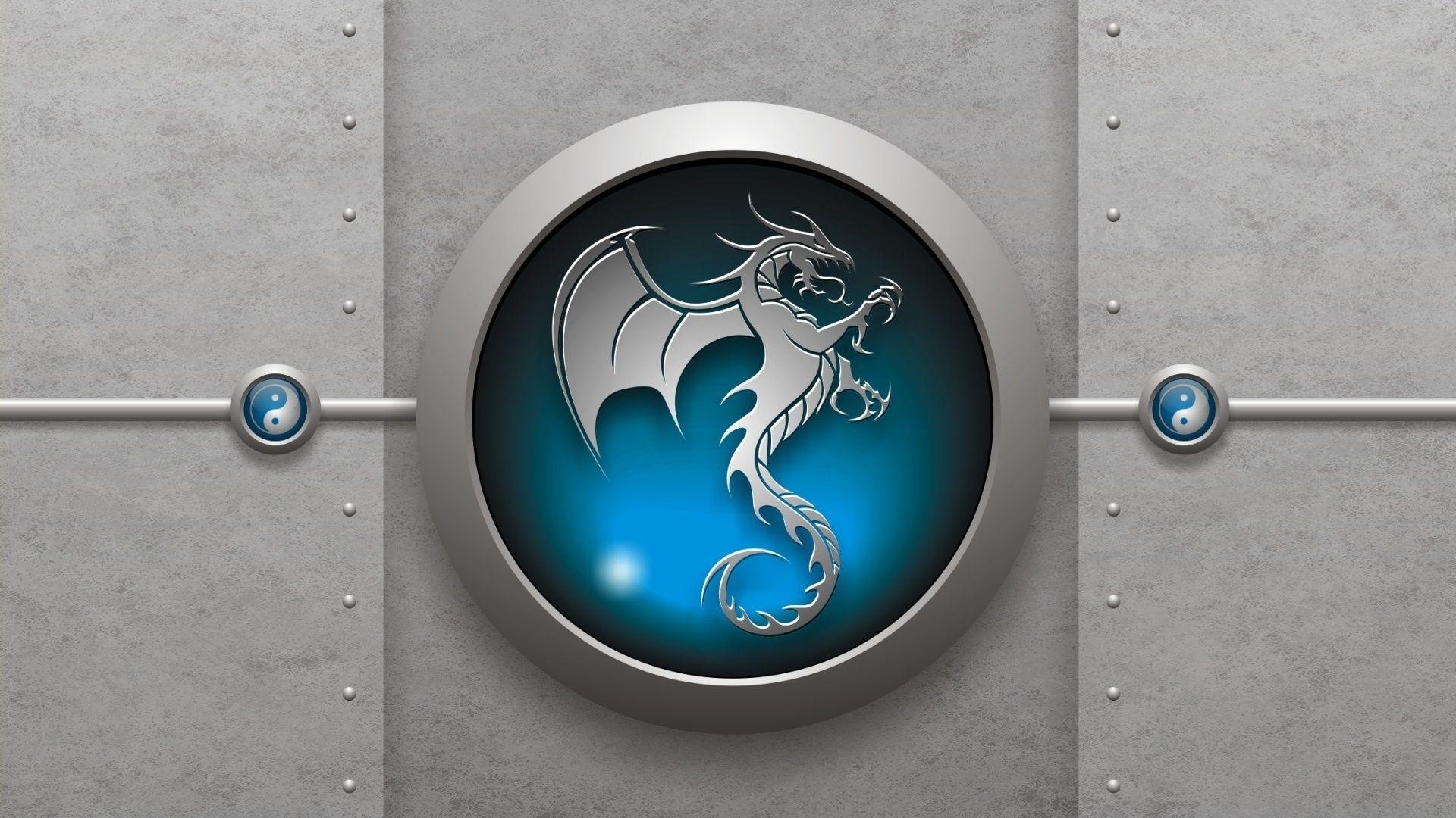 3d wallpaper free download | download dragon logo 3d hd wallpaper