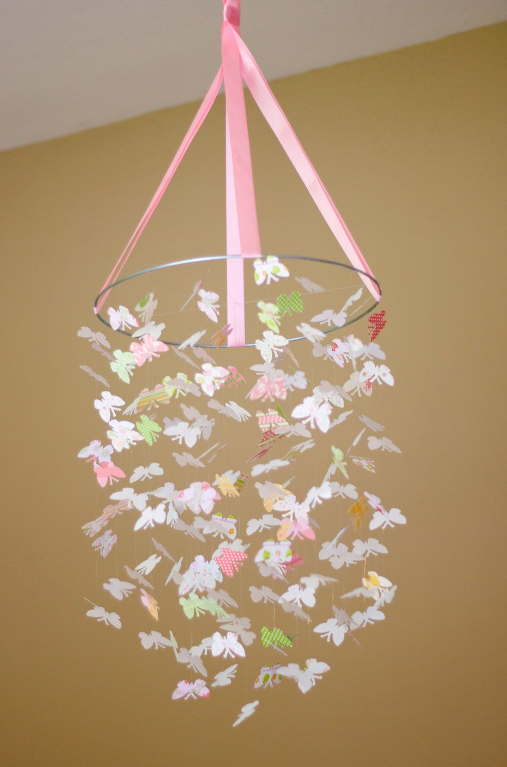 Pretty Baby Butterfly Mobile KIT DIY Great Craft Project