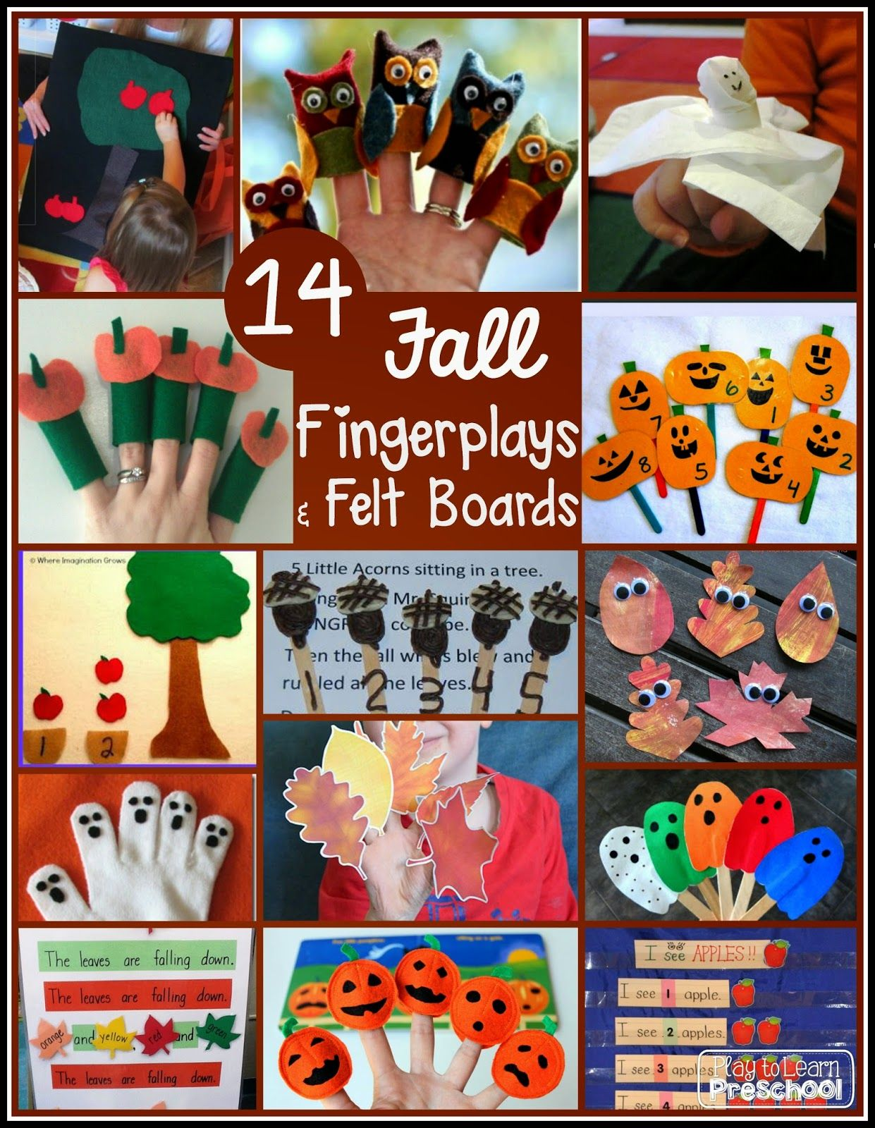 Preschool Circle Time Activities For Fall