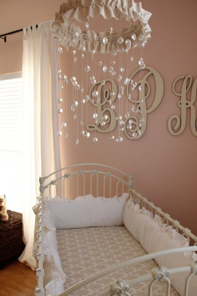 Obviously My Daughter S Nursery Will Have A Crystal Mobile It Like Mini Chandelier