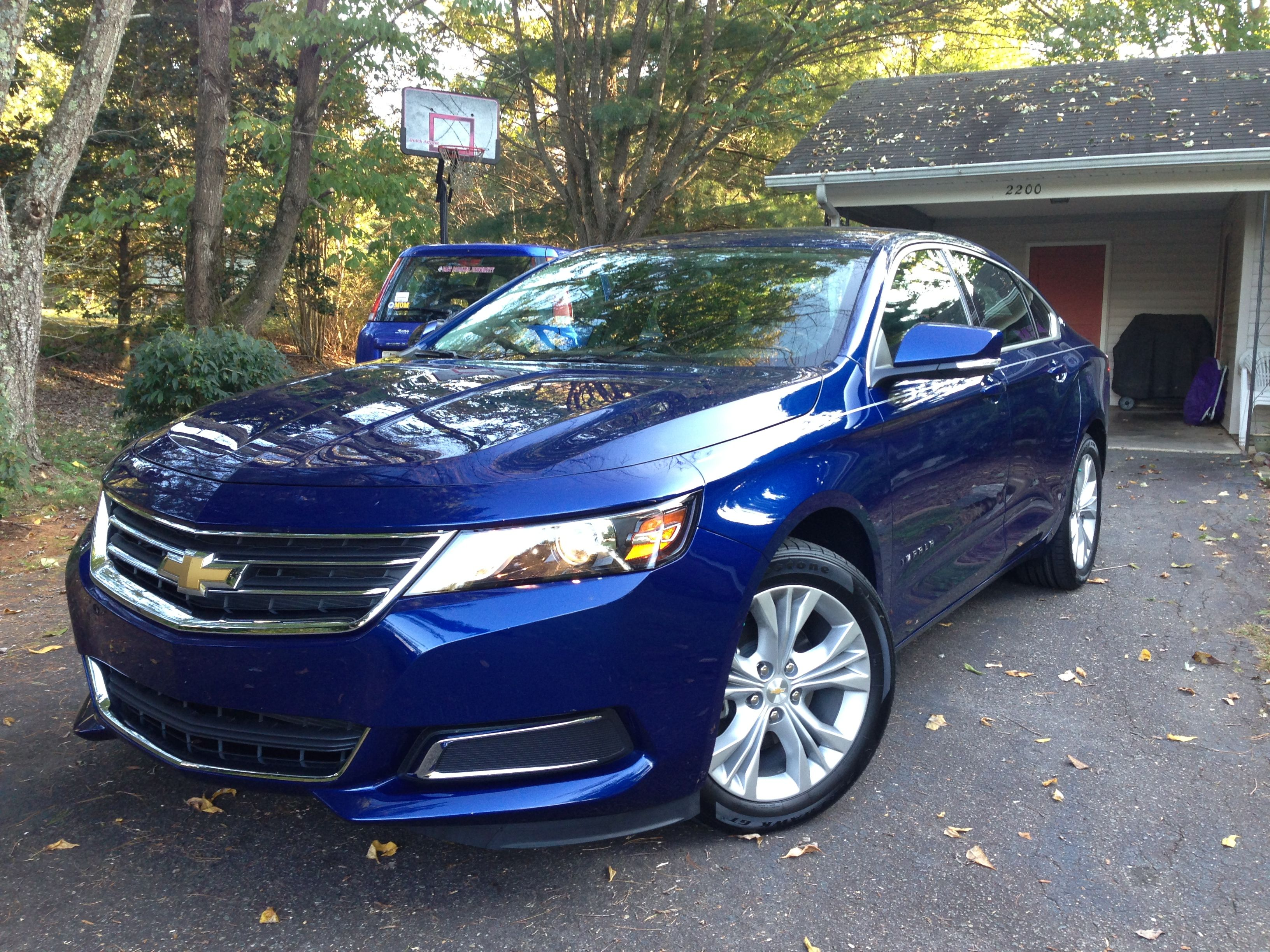 2014 Chevy Impala LT I've never owned a blue car before