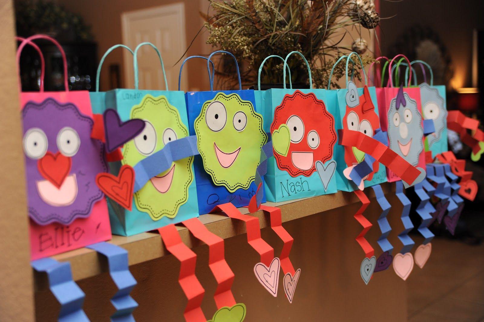 Valentine Holder Bag Crafts For Kids