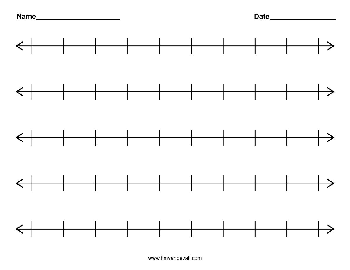 Free Worksheet Decimals On A Number Line Worksheet blank number line template sample baseball score sheet 6 lines worksheet syndeomedia