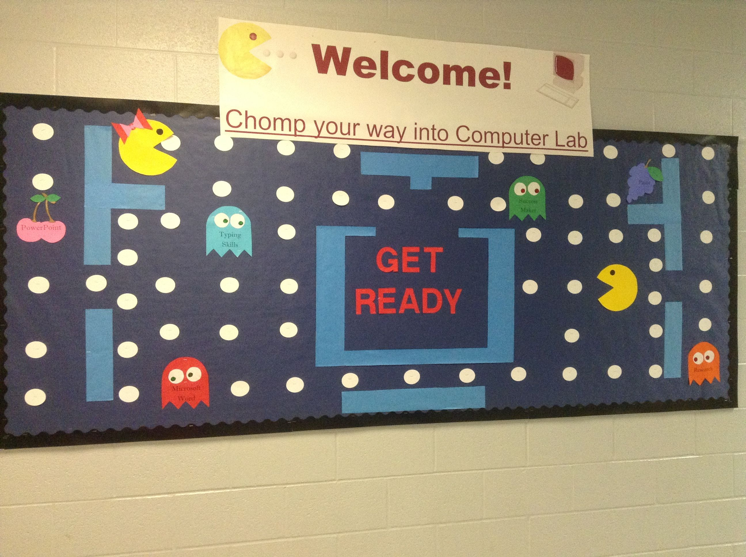Back To School Bulletin Board For My Computer Lab