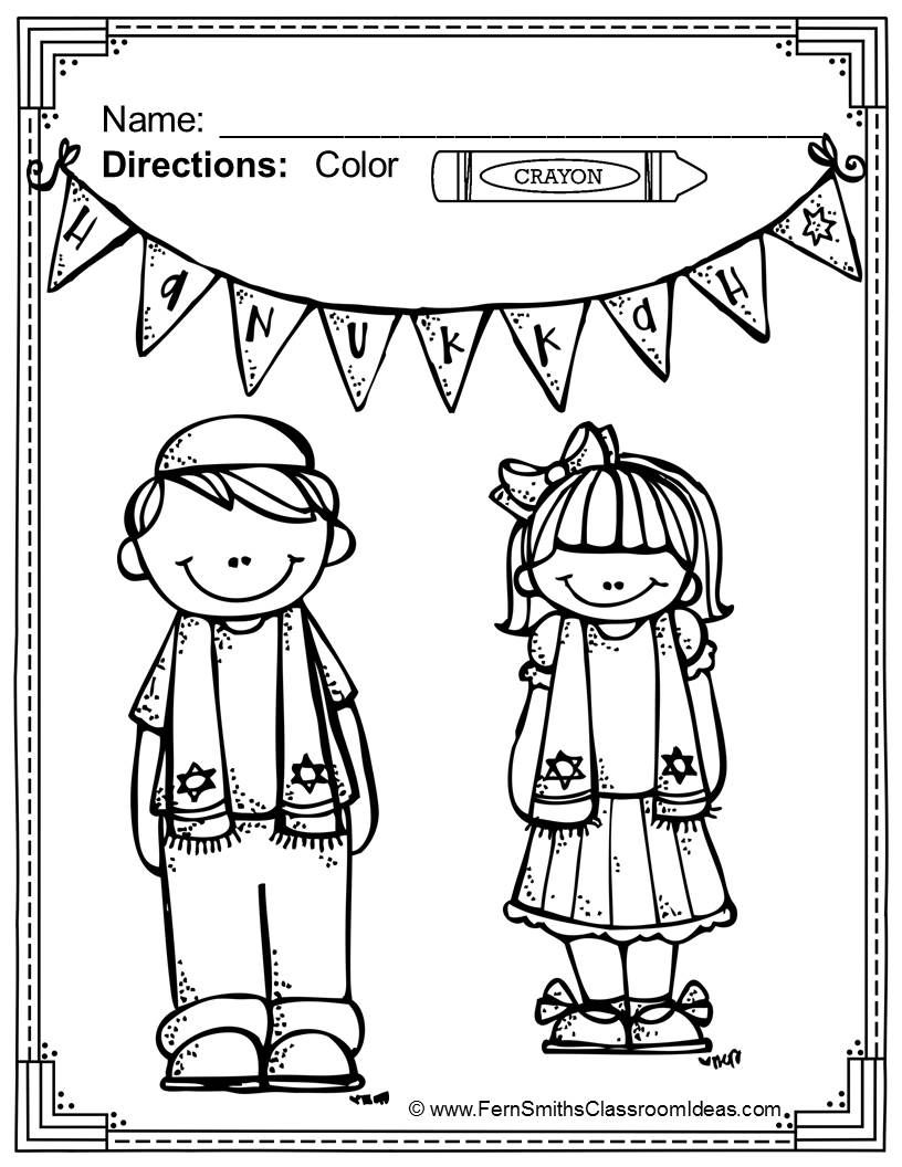 Hanukkah Coloring Pages Coloring, Classroom and Kid