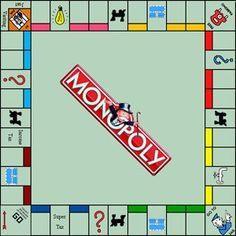 monopoly board game  Google Search | Road Trips