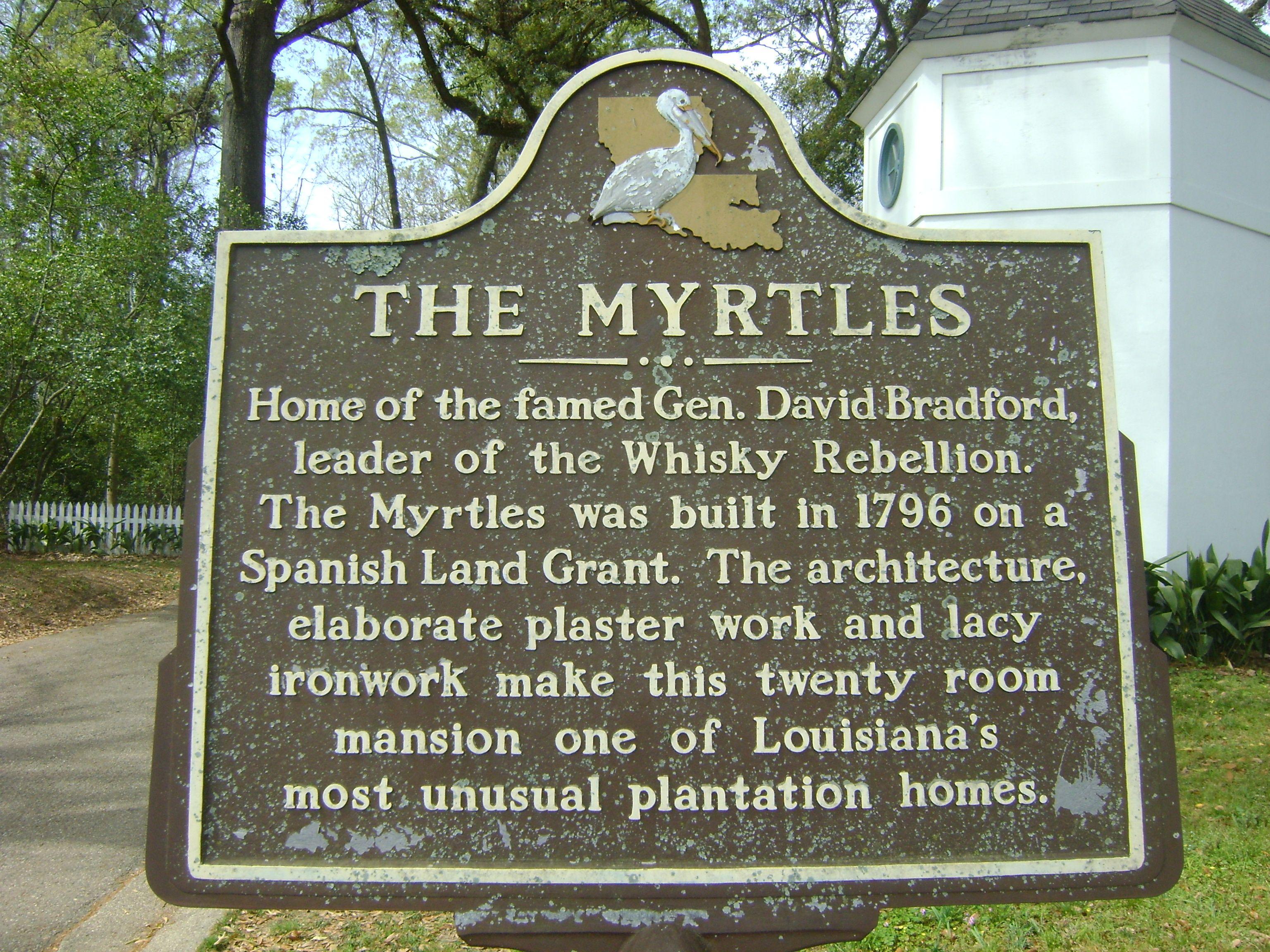 The Myrtles Plantation, St. Francisville, La. Haunted