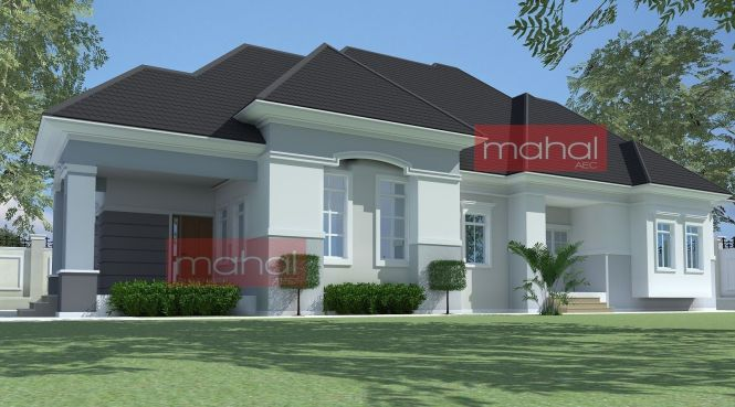 Groovy 4 Bedroom Bungalow Designs Nigeria Bedroom Style Ideas Largest Home Design Picture Inspirations Pitcheantrous