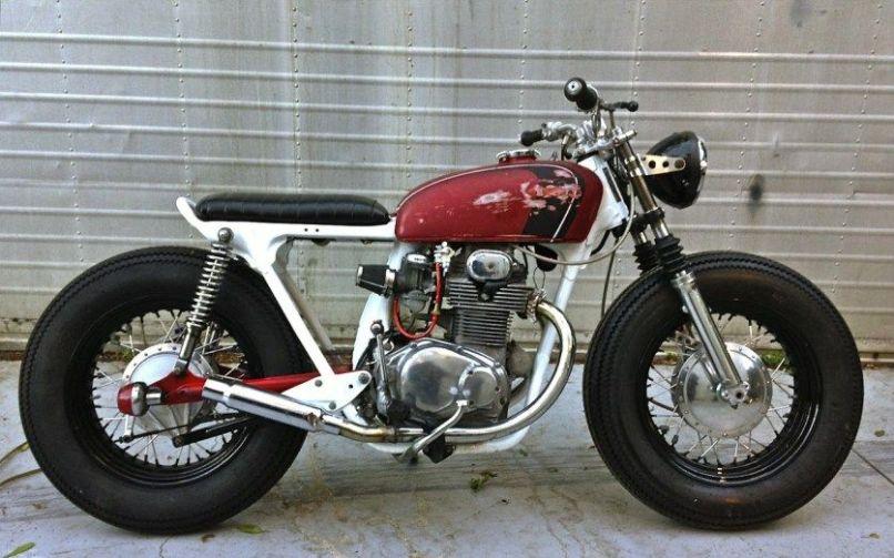 1972 Honda Cb350 Top Motorsports Inazuma Cafe Racer 13