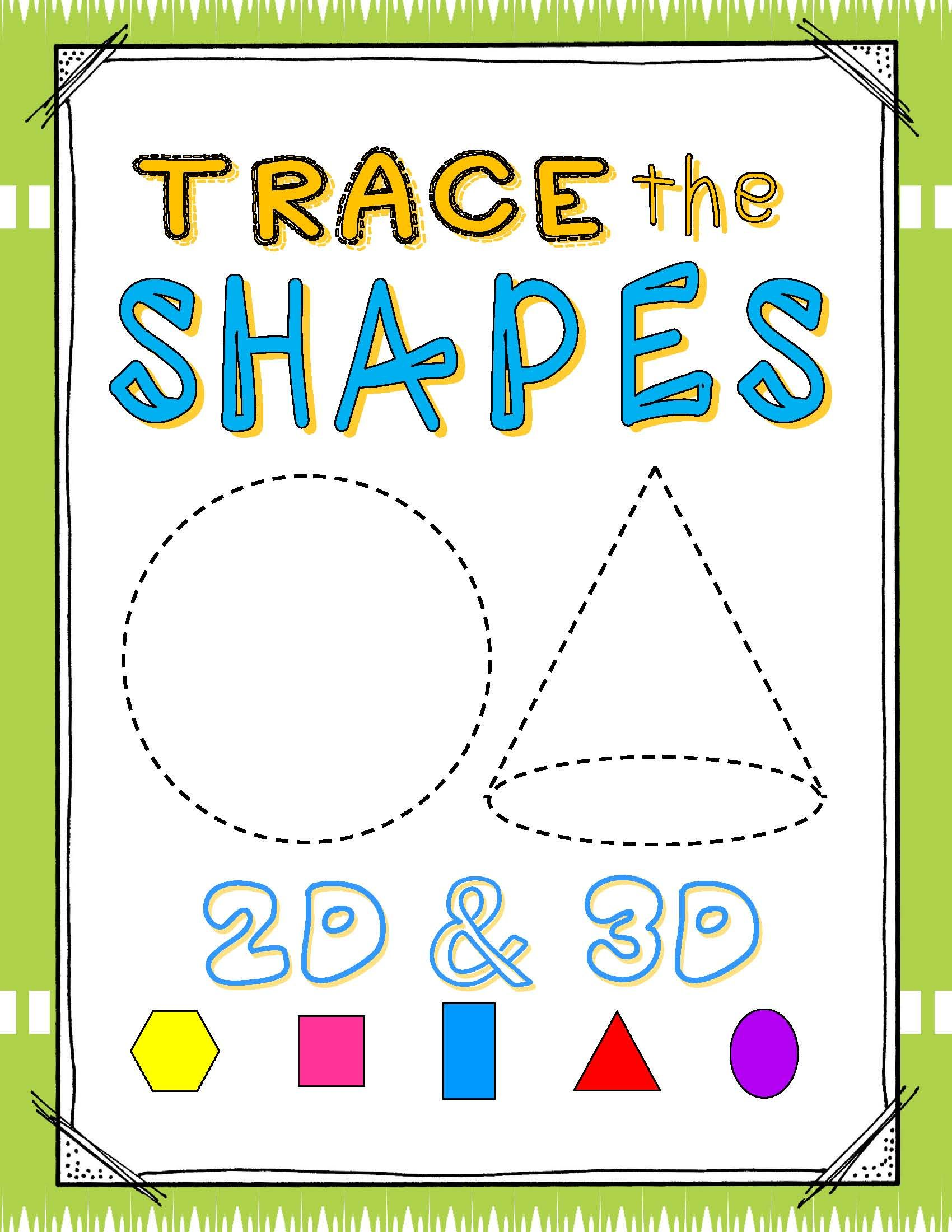Shapes 2d Amp 3d Write Amp Wipe Cards 24 Shapes 6