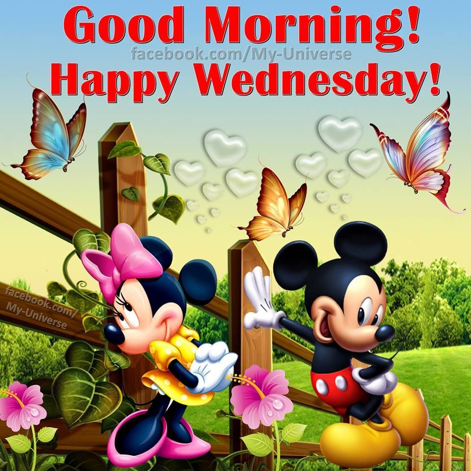 Good Morning Happy Wednesday Disney Quote Days Of The