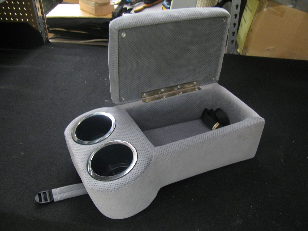 Classic Console With Cup Holders Custom Order Using