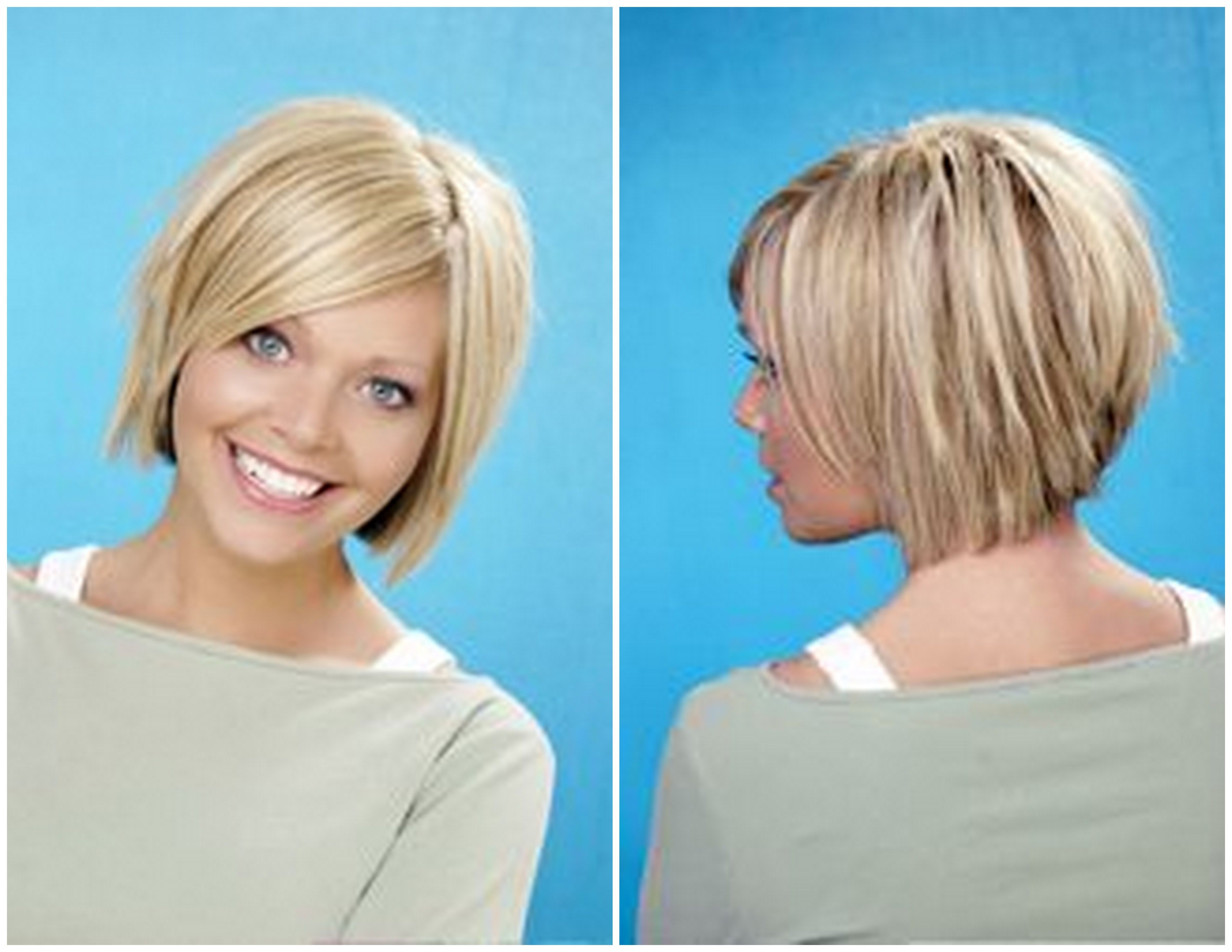Hate the front but love the back Hair Pinterest