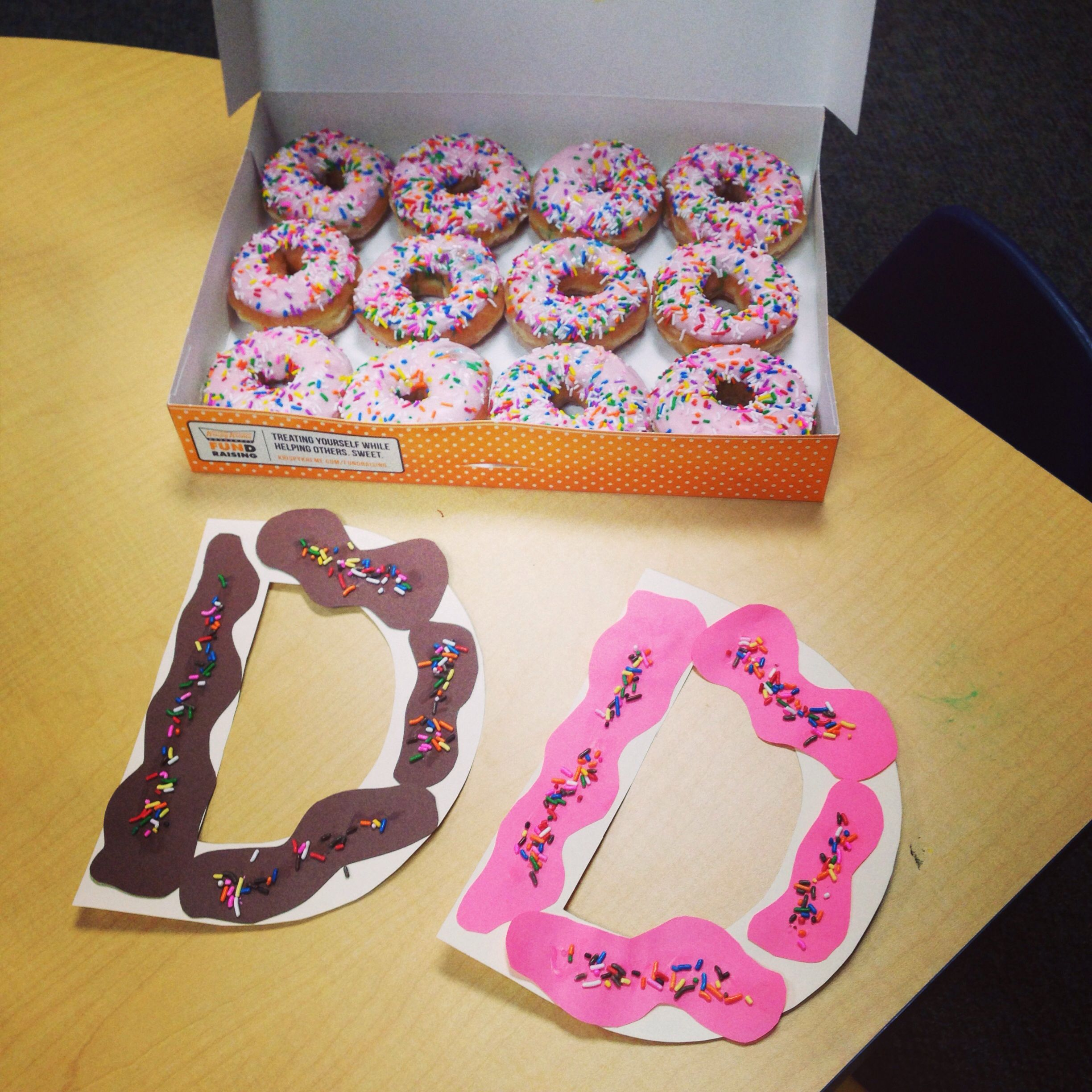 Letter D Donut Craft Preschool D A Great Excuse To Eat