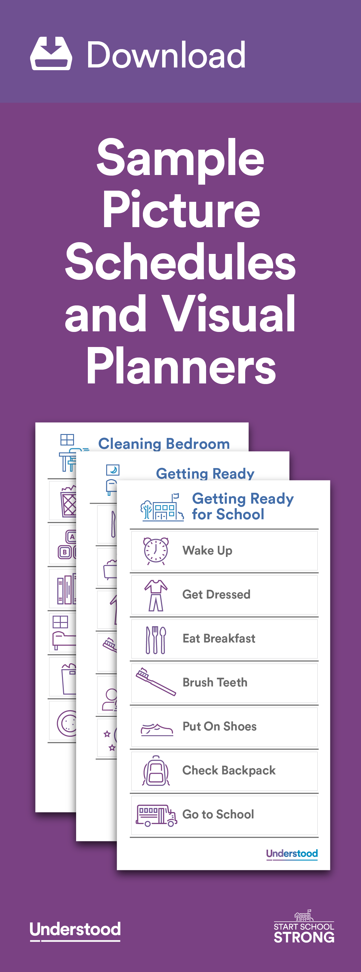 Download Sample Picture Schedules And Visual Planners