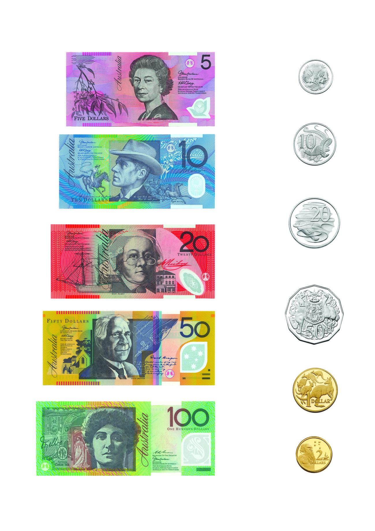 Australian Money Pictures For Print