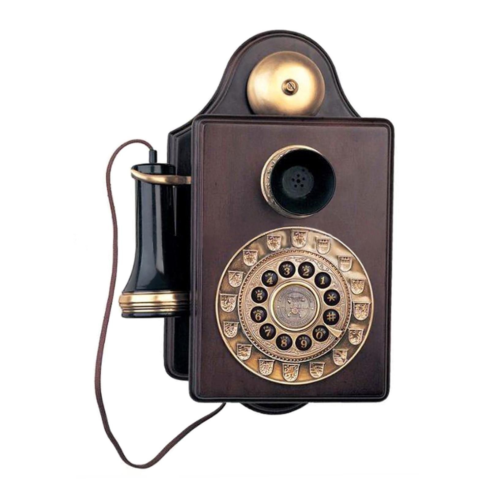 Paramount Antique Wall Reproduction Novelty Phone A great