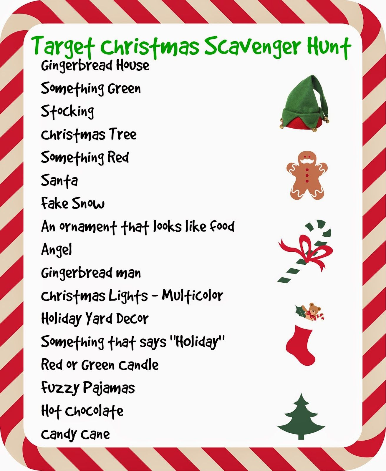 Target Store Christmas Scavenger Hunt Christmas Lights I