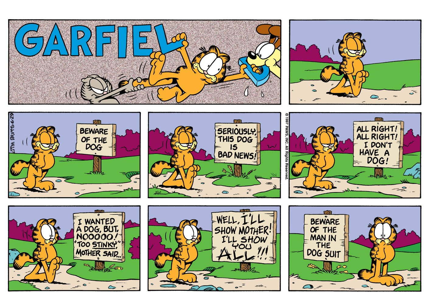 Garfield Turns 35
