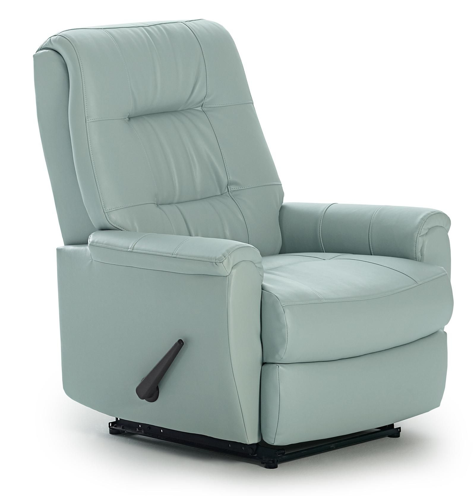 Recliners Petite Swivel Rocker Recliner By Best Home