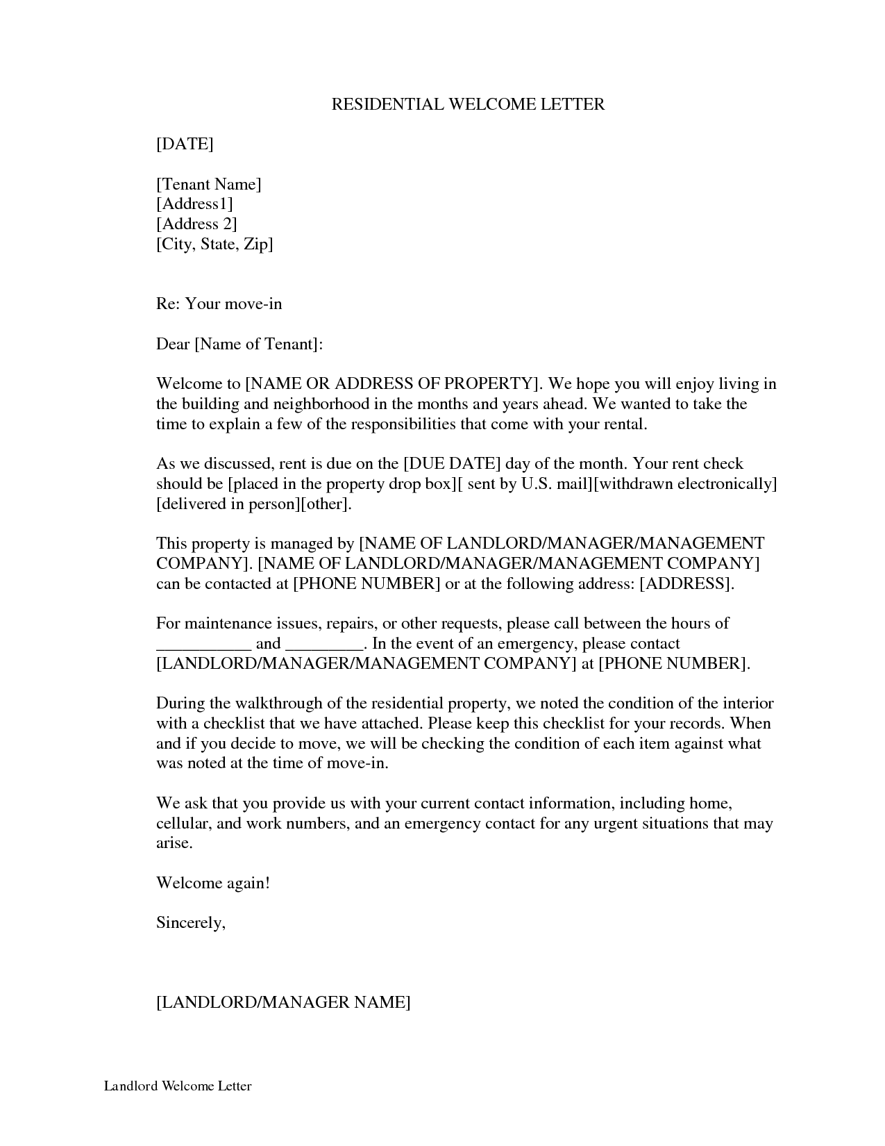 Letter Sample letters with mustknow