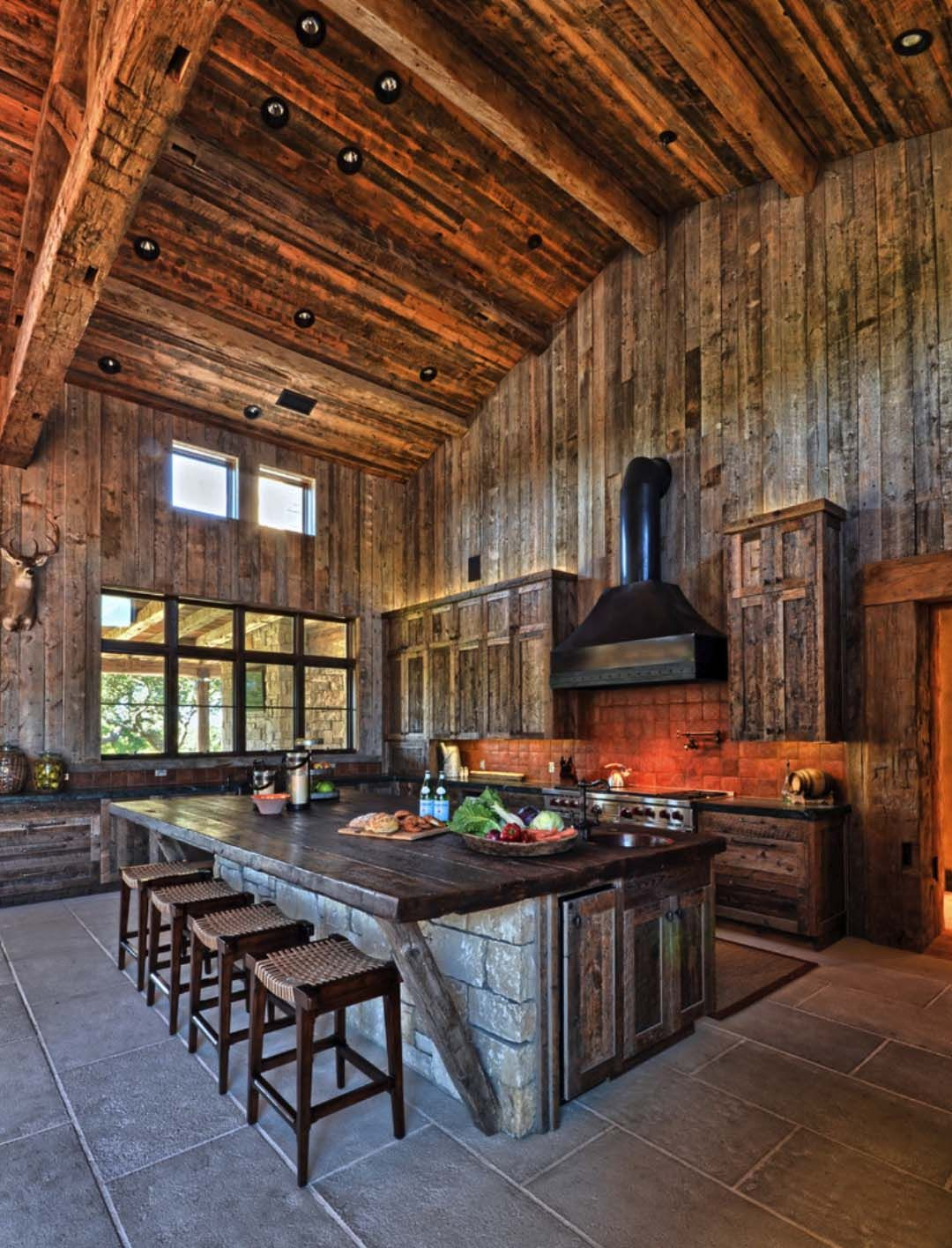 Modernrustic barn style retreat in Texas Hill Country