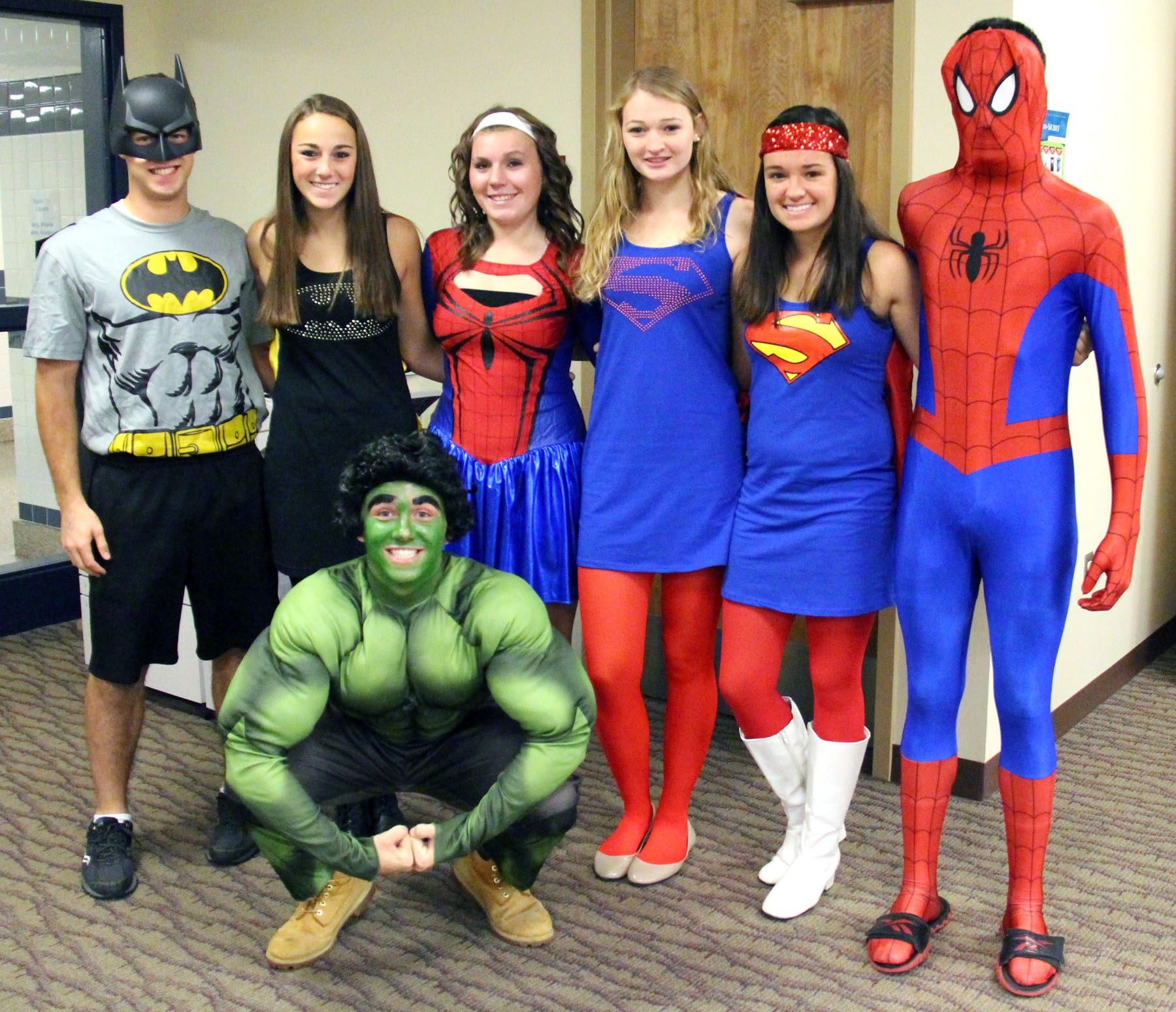 Superhero day at Pulaski High School reaches impressive
