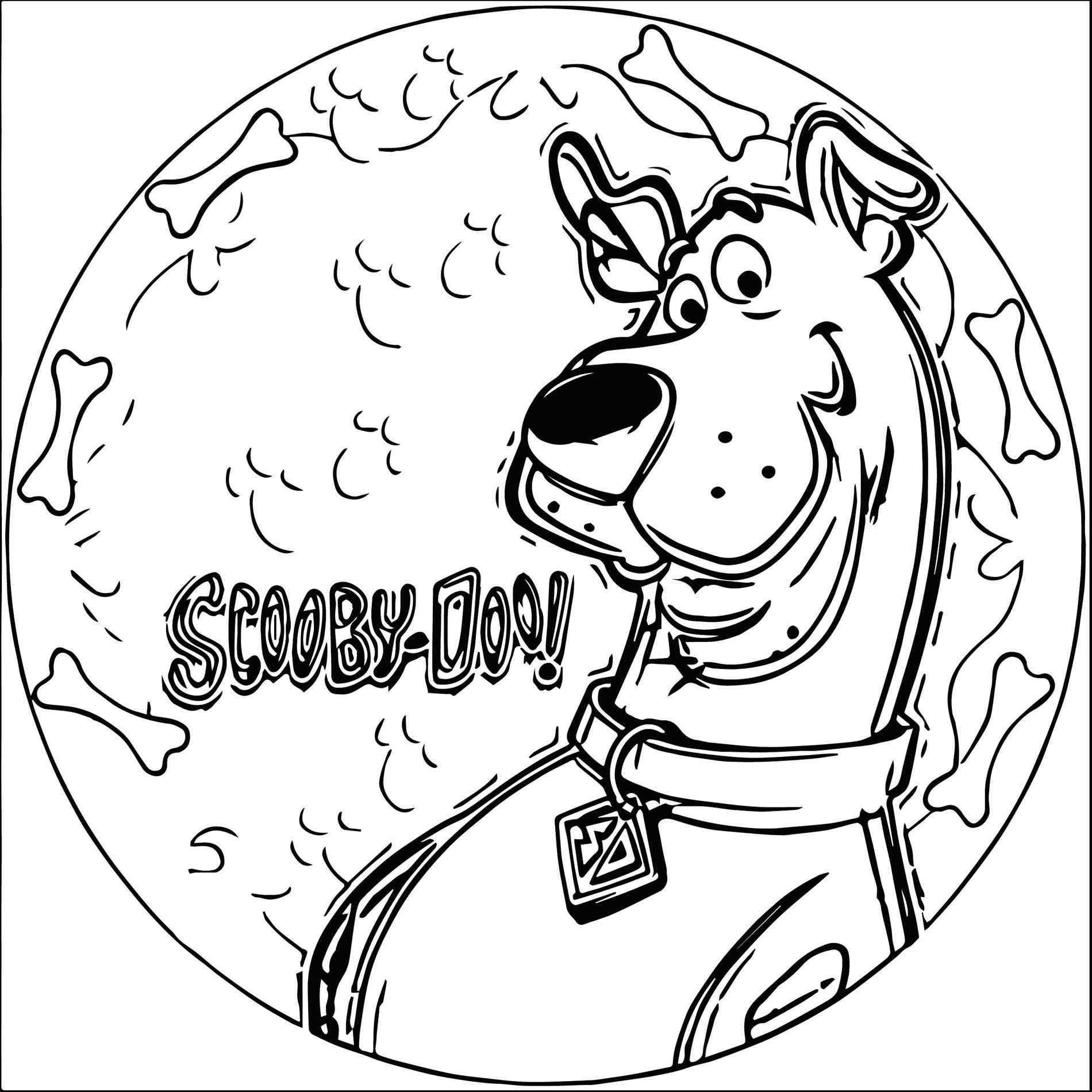 New Post Scooby Doo Christmas Coloring Pages Decors Ideas