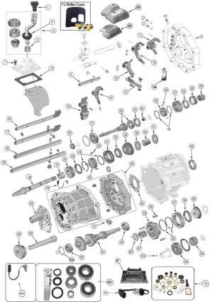 AX15 Transmission Parts | 9398 Grand Cherokee ZJ Parts
