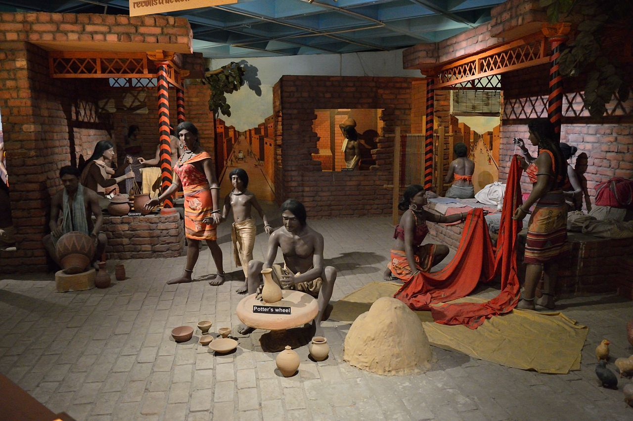 Indus Valley Diorama Indian Science and Technology