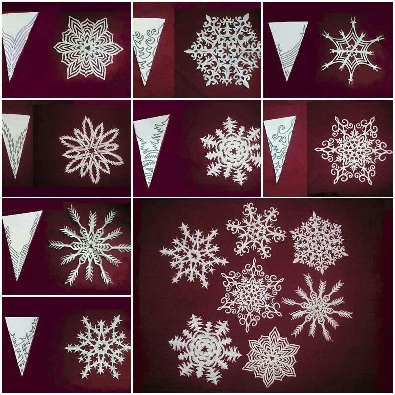 Wonderful DIY Pretty Paper Snowflake Ornaments for