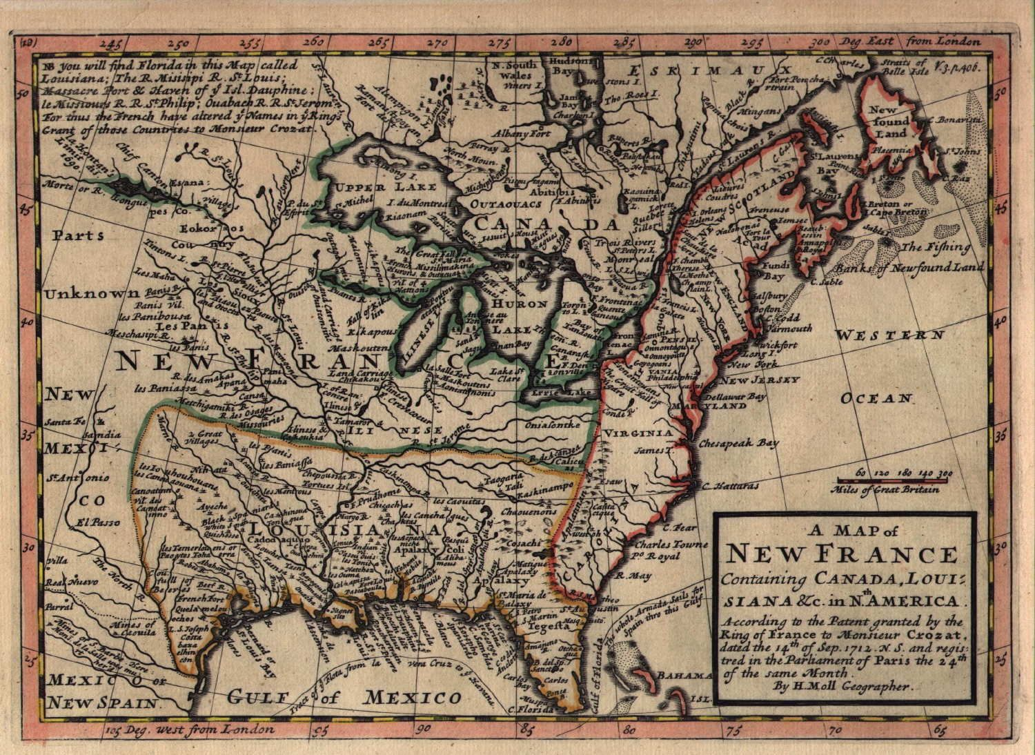 High quality maps of 18th century America. Page has links