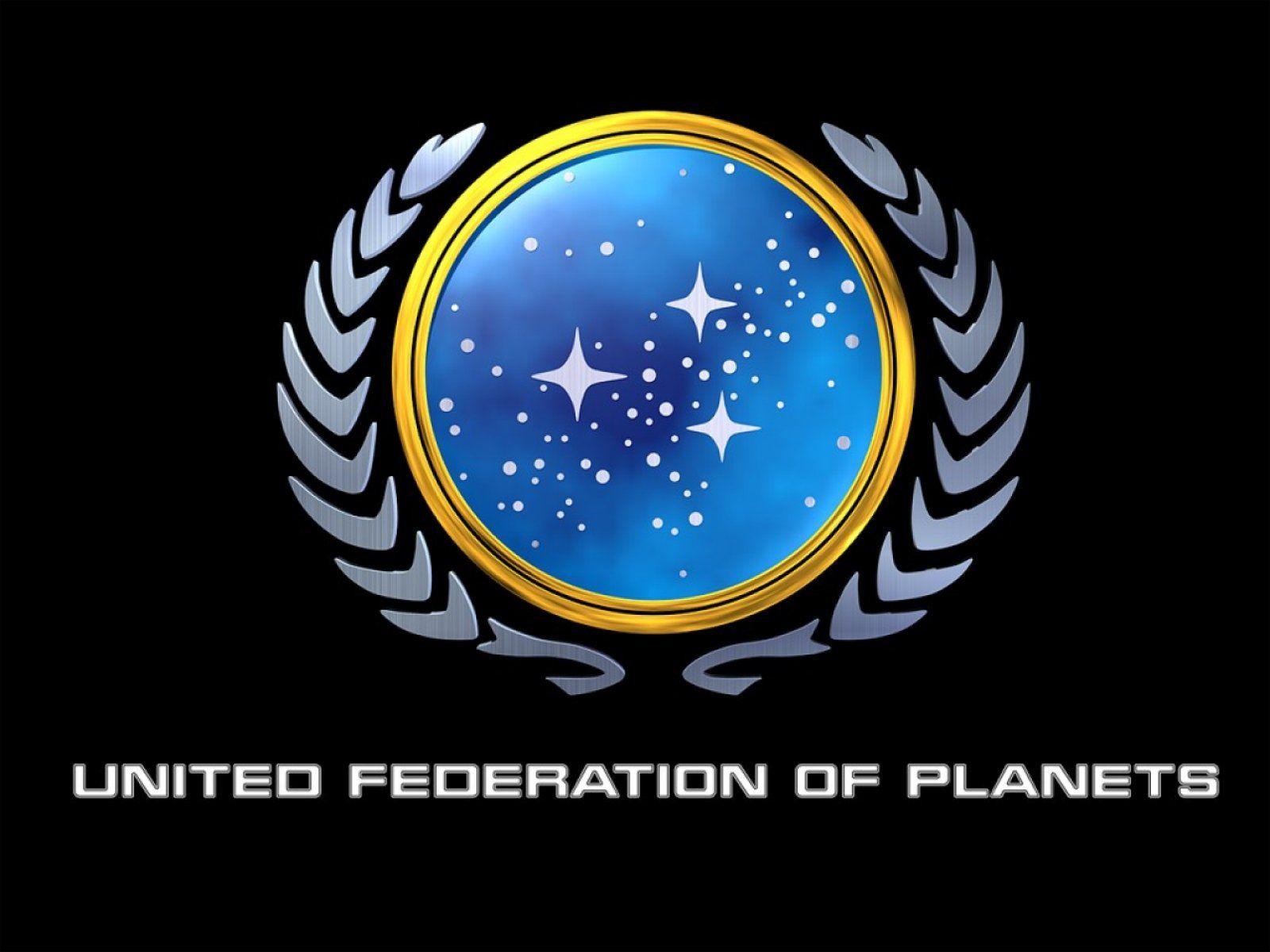 Star Trek United Federation of Logo. Free computer