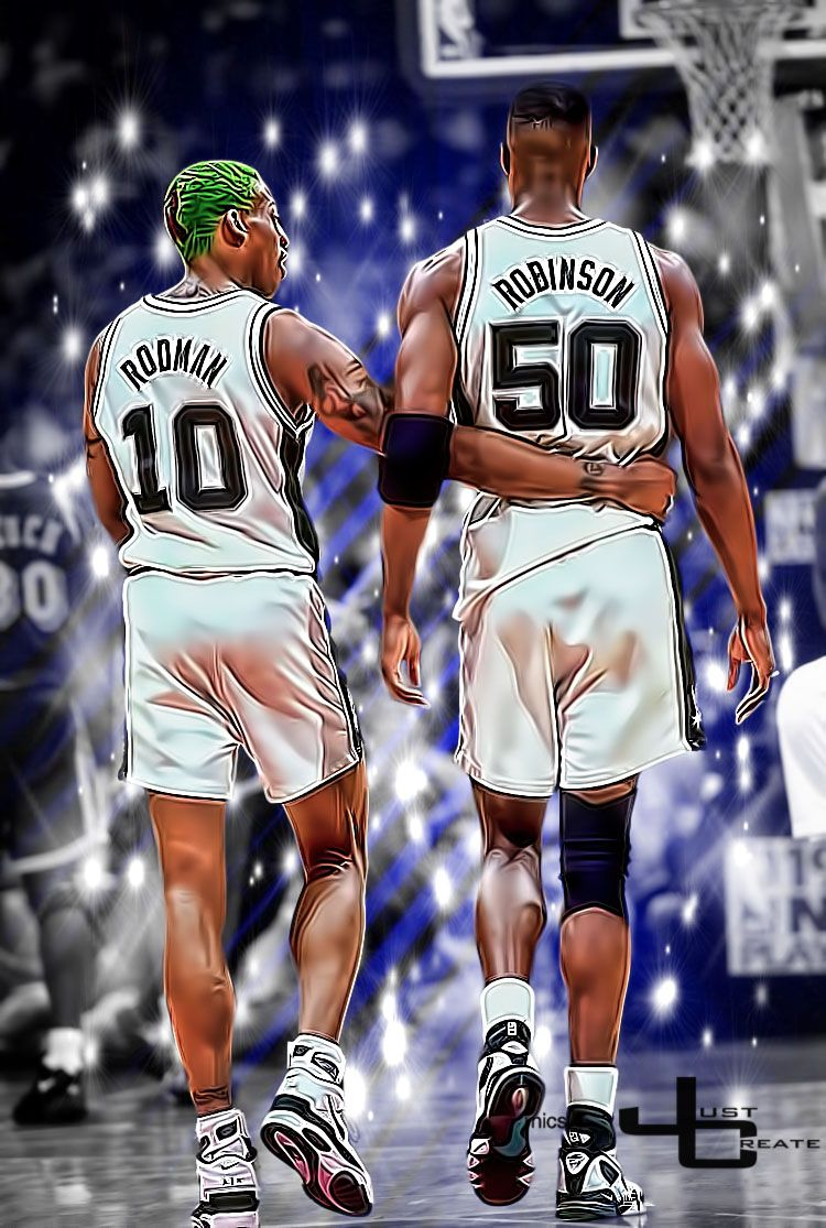 Dennis Rodman David Robinson graphics by justcreate Sports