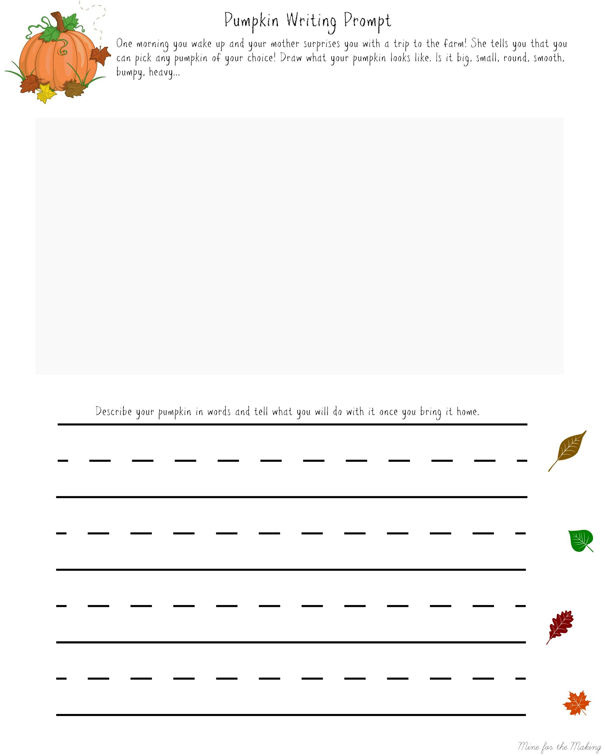 Pumpkin Writing Prompt 2 000 2 500 Pixels
